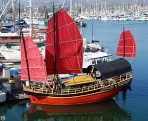Used Chinese Junk 34 Antique and Classic Sailboat For Sale