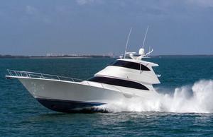 New Viking Enclosed Bridge Convertible Fishing Boat For Sale