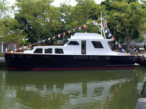 Used Huckins Linwood Motor Yacht For Sale