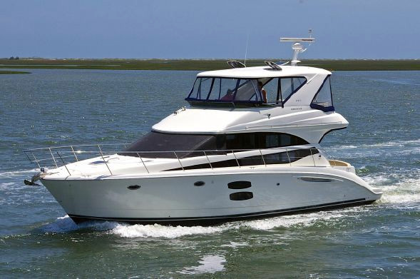 Used Meridian Express Cruiser Boat For Sale