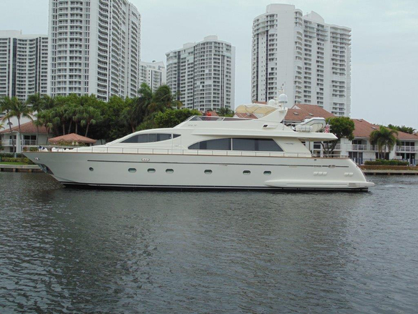 Used Falcon Motoryacht Flybridge Boat For Sale