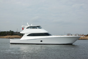 New Viking Convertible Enclosed Bridge Convertible Fishing Boat For Sale