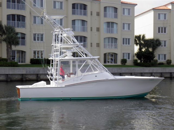 Used Egg Harbor Predator Sports Fishing Boat For Sale