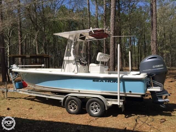 Used Sea Hunt 22 BX Pro Flats Fishing Boat For Sale
