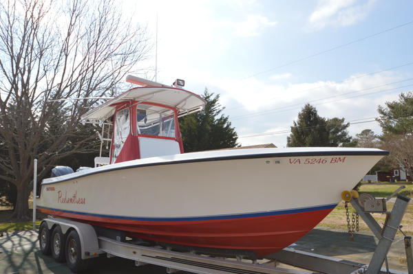 Used Contender 25 Sport Center Console Saltwater Fishing Boat For Sale