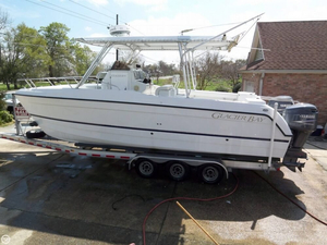 Used Glacier Bay 26 CC Canyon Runner Center Console Fishing Boat For Sale