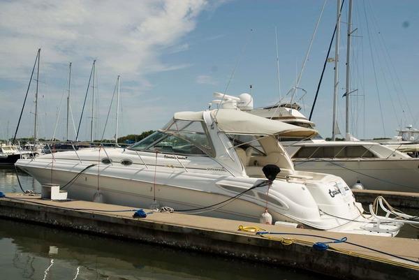 Used Sea Ray 410 Sundancer Sports Cruiser Boat For Sale
