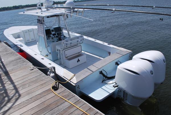 Used Joker Marine Custom CC Saltwater Fishing Boat For Sale