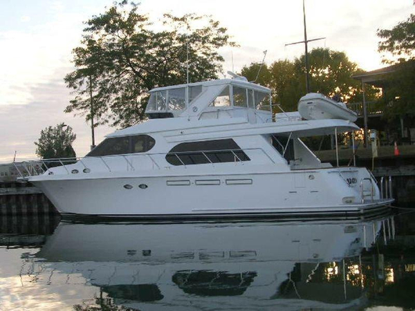 Used Ocean Alexander 58 Pilothouse Boat For Sale