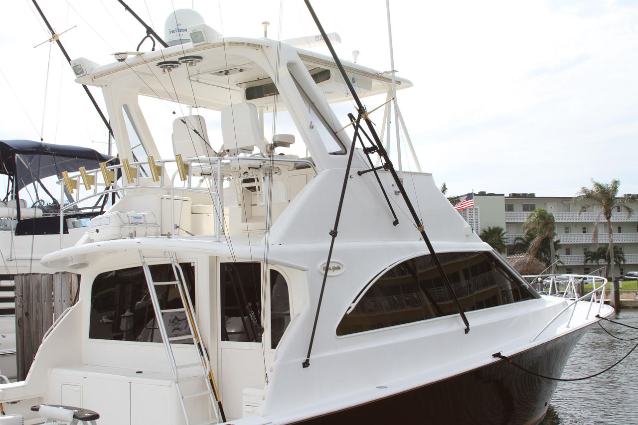 1998 used ocean yachts 48 super sport sports fishing boat for Sport fishing boats for sale by owner