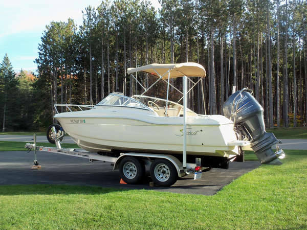 Used Scout Boats 210 Dorado Freshwater Fishing Boat For Sale
