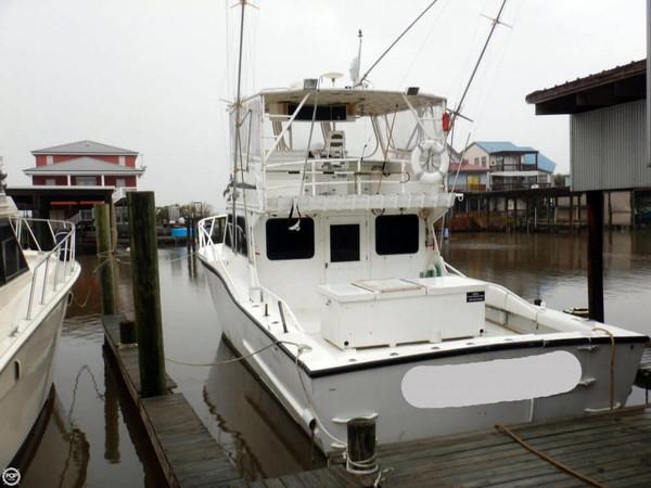 Used Leblanc Boat Works 44 Aluminum Fishing Boat For Sale