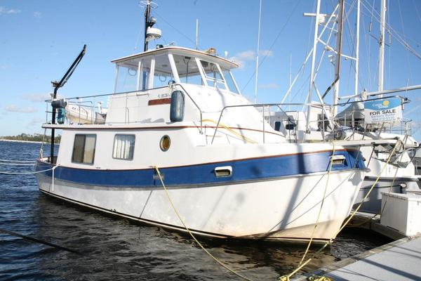 Used Kadey Krogen Manatee Motor Yacht For Sale