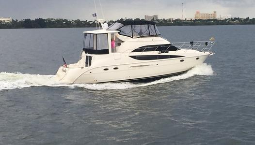 Used Meridian 459 Cockpit Motoryacht Motor Yacht For Sale