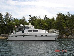 Used Endeavour 38 Trawler Cat Motor Yacht For Sale
