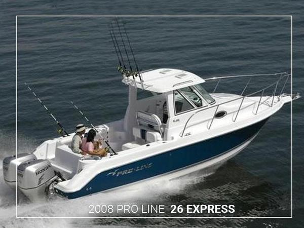 Used Pro-Line 26 Express Sports Fishing Boat For Sale