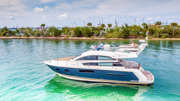 Used Fairline Squadron 42 Flybridge Boat For Sale