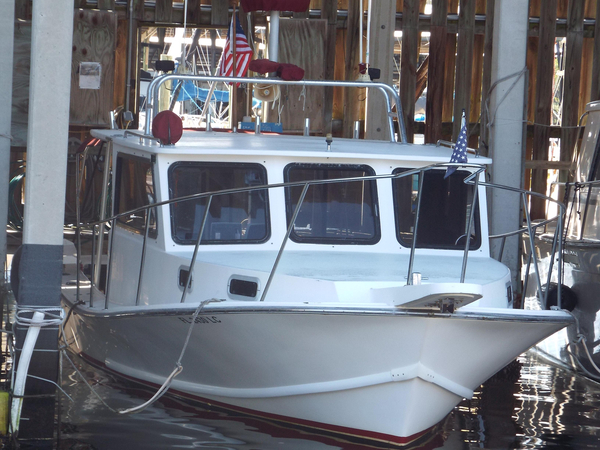 Used Lafitte 32 Skiff Pilothouse Boat For Sale