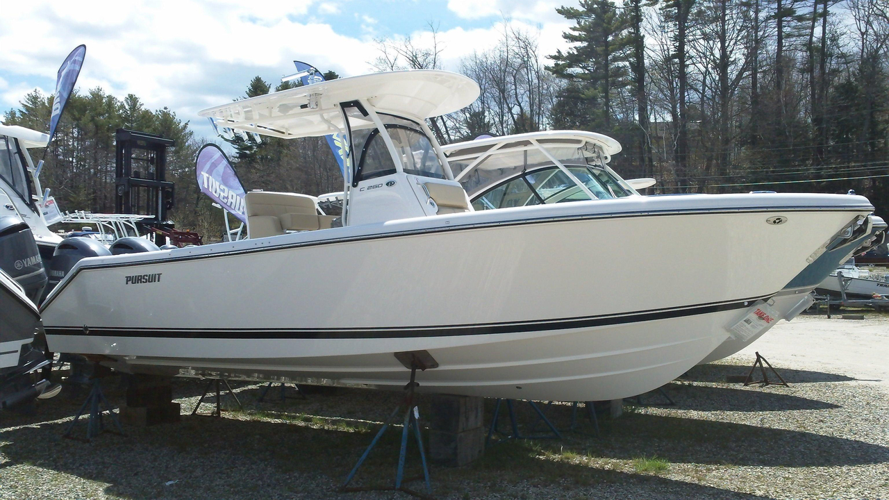 2016 new pursuit boats c 260 saltwater fishing boat for