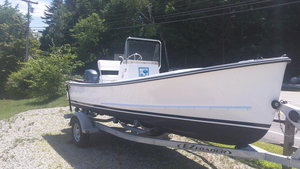 New Eastern Boats 18 Classic Center Console Fishing Boat For Sale