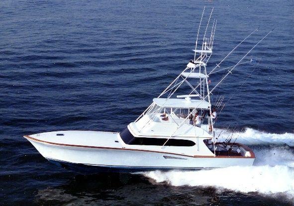 Used Custom Carolina Island Boat Works Sportfish Convertible Fishing Boat For Sale