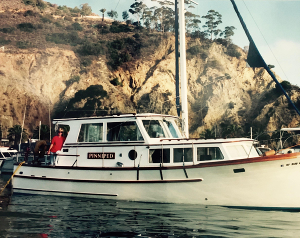 Used Roughwater 36 Motor Sailer Trawler Boat For Sale
