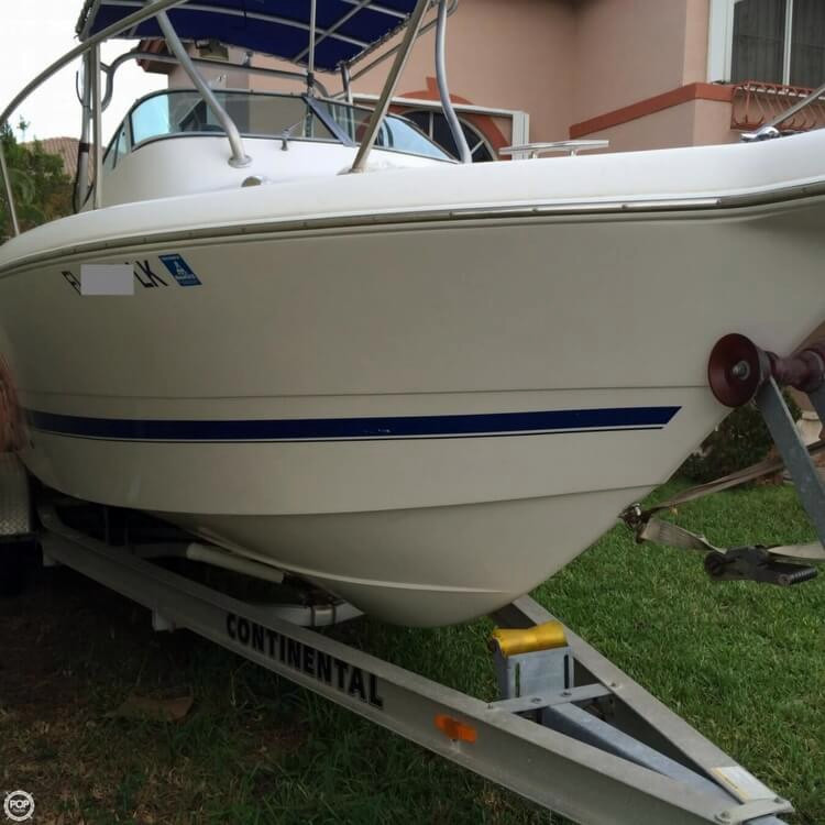 2000 used pro line 24 walk walkaround fishing boat for for Used fishing boats for sale in florida