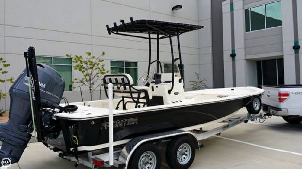 2014 used frontier 2104 cc center console fishing boat for for Used fishing boats for sale in houston