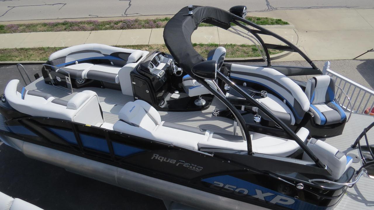 2016 New Aqua Patio 250 Xp Pontoon Boat For Sale Osage