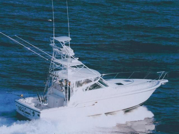 Used Tiara 4100 Open Tower Cruiser Boat For Sale