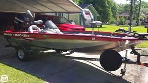 Used Bass Tracker Pro Team 175 TXW Bass Boat For Sale