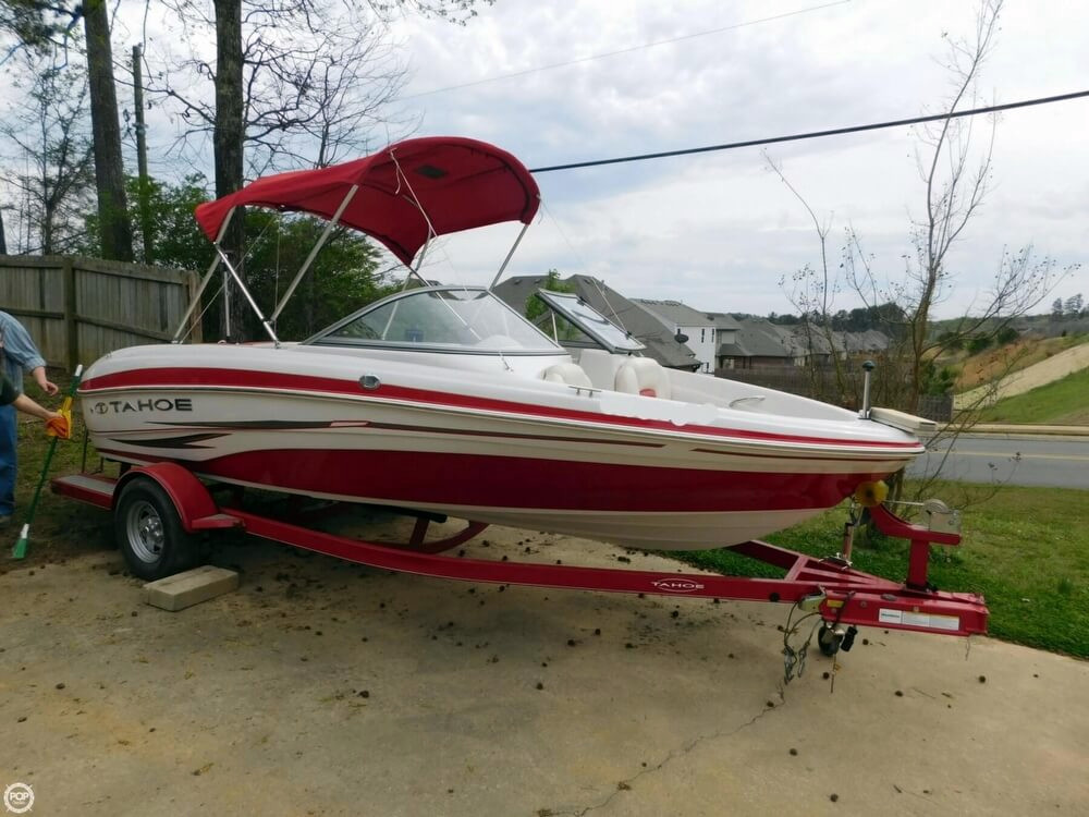 2012 used tahoe q5i ski and fish bowrider boat for sale for Fish and ski boats for sale