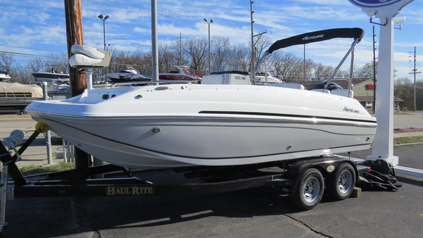 New Hurricane Center Console 19 OB Deck Boat For Sale