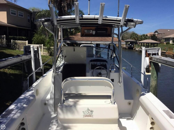 Used Shamrock 246 Walkaround Fishing Boat For Sale