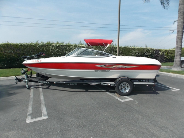 Used Stingray 195 FX Ski and Fish Boat For Sale