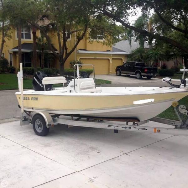 Used Sea Pro SV 1700 CC Center Console Fishing Boat For Sale
