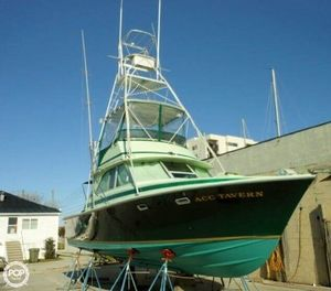 Used Bertram 35 Convertible Sports Fishing Boat For Sale