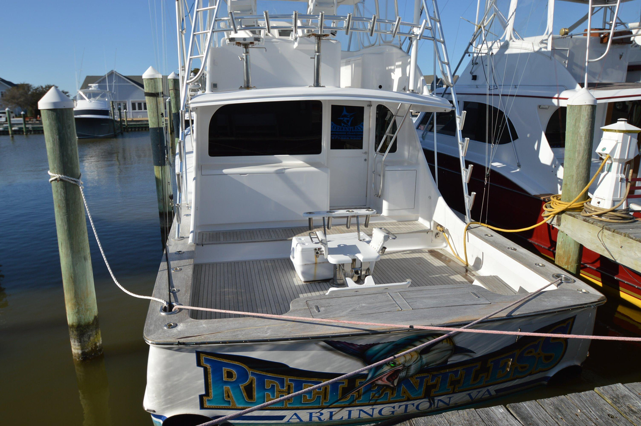 2003 used custom carolina ritchie howell convertible for Used fishing boats for sale in eastern nc