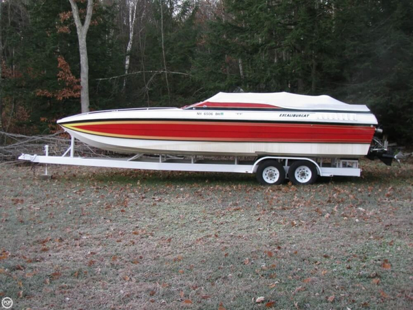 Used Wellcraft 30 Excalibur Cat High Performance Boat For Sale