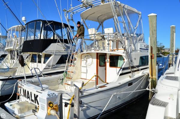 Used Bertram 33 Sport Fisherman Sports Fishing Boat For Sale