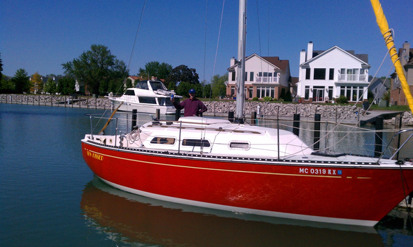 Used Amp Paceship PY26 Cruiser Sailboat For Sale