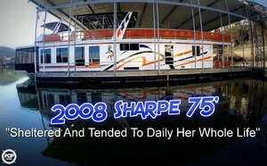 Used Sharpe 16 x 75 House Boat For Sale