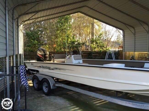Used Sea Ark Coastal V240 Center Console Fishing Boat For Sale