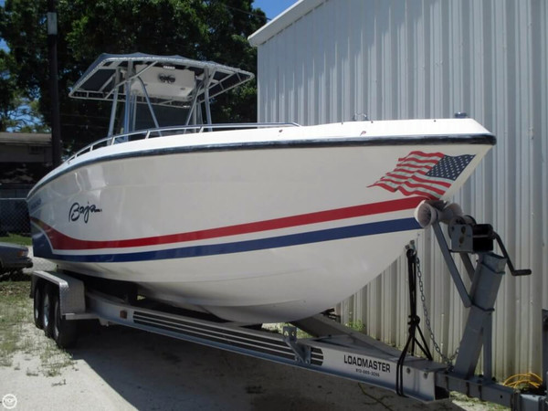 Used Baja 280 Angler Center Console Fishing Boat For Sale
