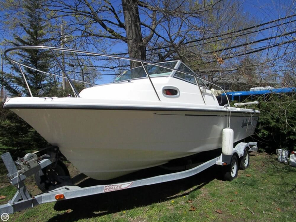 Used Boston Whaler 205 Eastport Walkaround Fishing Boat For Sale