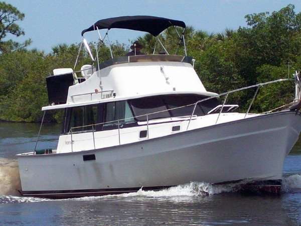 Used Mainship Sedan Mk 1 Express Cruiser Boat For Sale