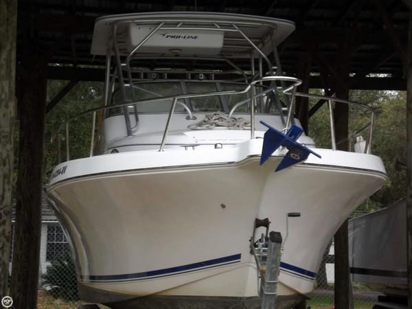 Used Pro-Line 30 Walk Walkaround Fishing Boat For Sale