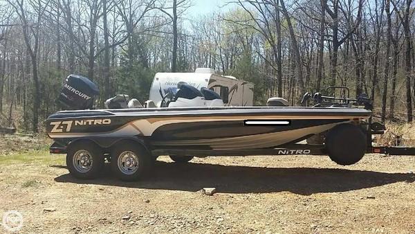 Used Nitro Z7 DC Bass Boat For Sale