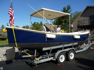 Used Navy Motor Whale Boat 26 MK II Deck Boat For Sale
