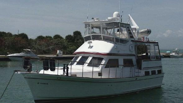 Used Marine Trader Labelle Cruiser Boat For Sale